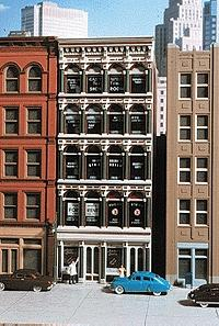City-Classics Grant Street Iron-Front Building Kit HO Scale Model Railroad Building #101