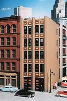 City-Classics Baum Boulevard Art Deco Building Kit HO Scale Model Railroad Building #105