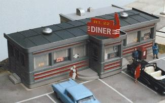 City Classics 108 HO Scale  Crafton Avenue Service Station Building Kit
