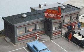 City-Classics Route 22 Diner Kit HO Scale Model Railroad Building #110