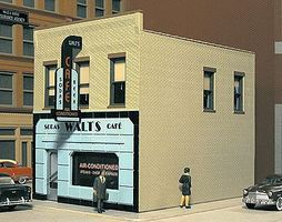 City-Classics Main Street Cafe Kit HO Scale Model Railroad Building #115