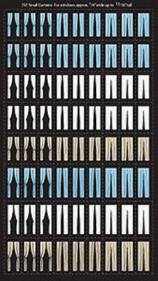 City Classics Small Curtains For Windows Ho Scale Model