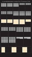 City-Classics Extra-Wide Blinds for windows (25) HO Scale Model Railroad Buidling Accessory #712