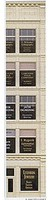 City-Classics Window Treatments pkg(6) HO Scale Model Railroad Building Accessory #713