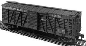 40 Stock Car Undecorated Kit HO Scale Model Train Freight Car #1001