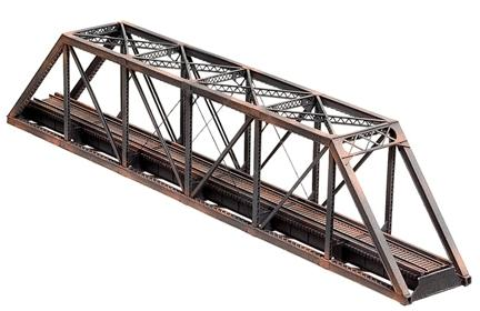 Central Valley Through-Truss Bridge Kit -- HO Scale Model Railroad Track -- #1810