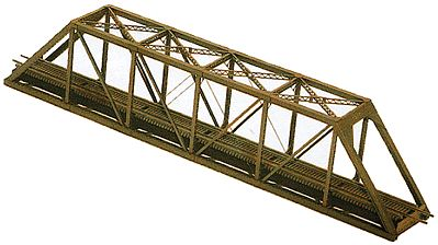 Central Valley Through-Truss Bridge Kit with Modern Portals -- N Scale Model Railroad Track -- #1815