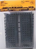 Central-Valley 30'' Heavy Duty Windowed Bridge Girders (5) HO Scale Model Railroad Bridge #19015