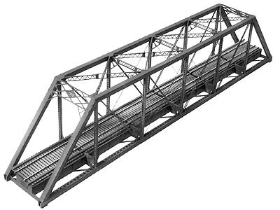Central Valley 150' Pratt Truss Bridge Kit -- HO Scale Model Railroad Bridge -- #1902