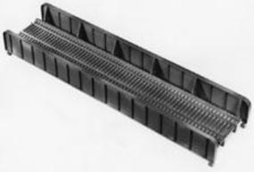 Central-Valley 72 Single-Track Plate Girder Bridge Kit - 10 x 2-1/2 25.5 x 6.3cm - HO-Scale