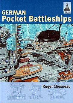 Classic Warships Publication Shipcraft- German Pocket Battleships (Re-Issue) -- Military History Book -- #sc1