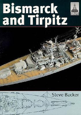 Classic Warships Publication Shipcraft- Bismarck & Tirpitz Battleships -- Military History Book -- #sc10