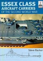 Classic-Warships Shipcraft- Essex Class Aircraft Carriers of WWII Military History Book #sc12