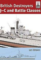 Classic-Warships Shipcraft- British Destroyers Military History Book #sc21