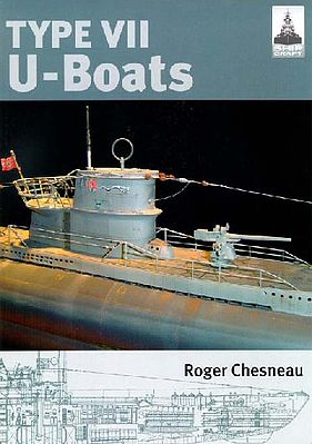 Classic Warships Publication Shipcraft- Type VII U-Boats -- Military History Book -- #sc4