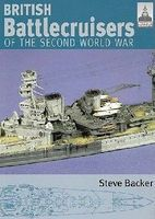 Classic-Warships Shipcraft- British Battle Cruisers of WWII Military History Book #sc7
