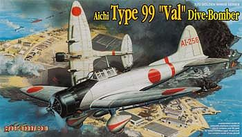 Cyber Aichi Type 99 Val Dive Bomber Plastic Model Airplane Kit 1/72 Scale #5045