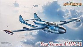 Cyber De Havilland Sea Venom FAW.21 Plastic Model Airplane Kit 1/72 Scale #5096