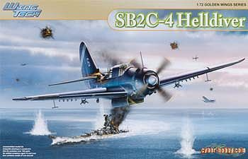 Cyber SB2C-4 Helldiver - Wing Tech Series Plastic Model Airplane Kit 1/72 Scale #5103