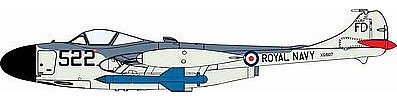Cyber Sea Venom FAW.21 w/Blue Jay Missile Plastic Model Airplane Kit 1/72 Scale #5108