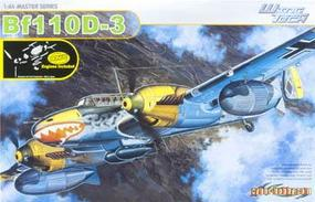 Cyber Messerschmitt BF 110D-3 Plastic Model Military Ship Kit 1/48 Scale #5555