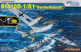 Cyber Messerschmitt BF-110D-1/R1 Dackelbauch Plastic Model Airplane Kit 1/48 Scale #5556
