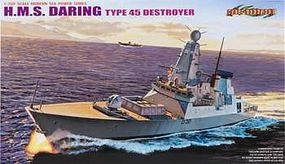 Cyber HMS Daring Type 45 Destroyer Plastic Model Destroyer Kit 1/700 Scale #7093