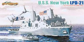 Cyber 1/700 USS New York LPD-21 Amphibious Vessel
