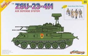 Cyber ZSU-23-4M Air Defense System Plastic Model Military Vehicle Kit 1/35 Scale #9130