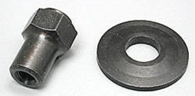 Dave-Brown Adapter Nut Short 1/4-28