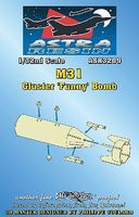 Daco M31 Cluster Funny Bomb (Resin Armament) Plastic Model Weapon Kit 1/32 Scale #3209