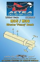 Daco M35/M36 Cluster Funny Bomb (Resin Armament) Plastic Model Weapon Kit 1/32 Scale #3210