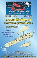 AGM62 Walleye I Mk 1 Television-Guided Bomb Plastic Model Weapon Kit 1/48 Scale #4801