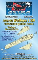 AGM62 Walleye I ER Mk 21/29/34 TV-Guided Bomb Plastic Model Weapon Kit 1/48 Scale #4803