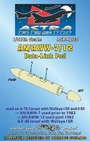 AN/AWW7/12 Data-Link Pod (Resin Armament) Plastic Model Weapon Kit 1/48 Scale #4805