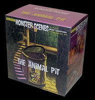 Dencomm Monster Scenes- The Animal Pit Plastic Model Fantasy Figure 1/13 Scale #639
