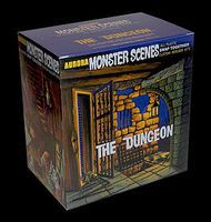 Dencomm Monster Scenes- The Dungeon Plastic Model Fantasy Figure 1/13 Scale #640