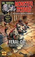 Dr-Deadly Feral Cat Dr Deadlys Plastic Model Fantasy Figure Kit #712