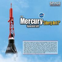 DGW Mercury Liberty Bell 7 Diecast Model Spacecraft 1/72 Scale #50393