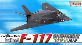 DGW F-117 Nighthawk 37TFW Diecast Model Airplane 1/144 Scale #51019