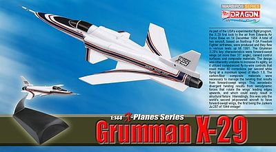 DGW Grumman X-29 Diecast Model Airplane 1/144 Scale #51024