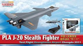 DGW PLA J-20 Stealth Fighter Diecast Model Airplane 1/144 Scale #51030