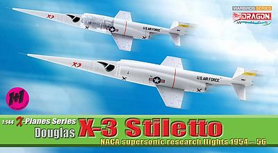Dragon Wings Douglas X-3 Stiletto -- Diecast Model Airplane -- 1/144 Scale -- #51035