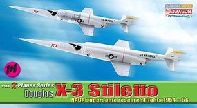 DGW Douglas X-3 Stiletto Diecast Model Airplane 1/144 Scale #51035
