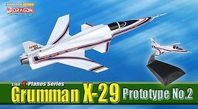 DGW Grumman X-29 Protype #2 Diecast Model Airplane 1/144 Scale #51039