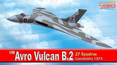 Dragon Wings Avro Vulcan B.2 2sqd 1974 -- Diecast Model Airplane -- 1/200 Scale -- #52005