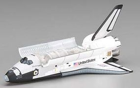 DGW NASA Space Shuttle Challenger with Bay Doors Diecast Model Spacecraft 1/400 Scale #56214