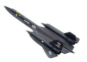 DGW SR-71A Blackbird Diecast Model Airplane 1/400 Scale #56222
