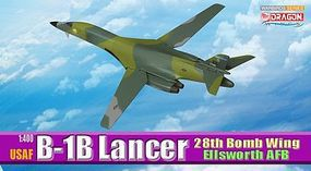 DGW USAF B-1B Lancer 28th BW Diecast Model Airplane 1/400 Scale #56225