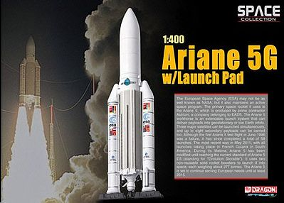 Dragon Wings Ariane 5G with Launch Pad -- Diecast Model Spacecraft -- 1/400 scale -- #56230